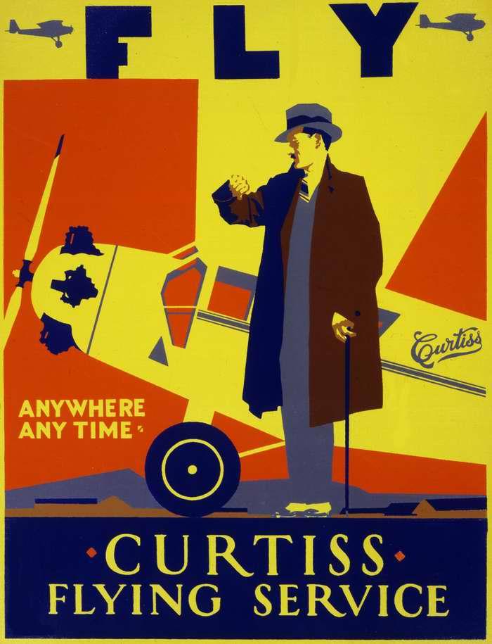 В любое место в любое время. Летная служба авиастроительной компании Curtiss (1928 год)