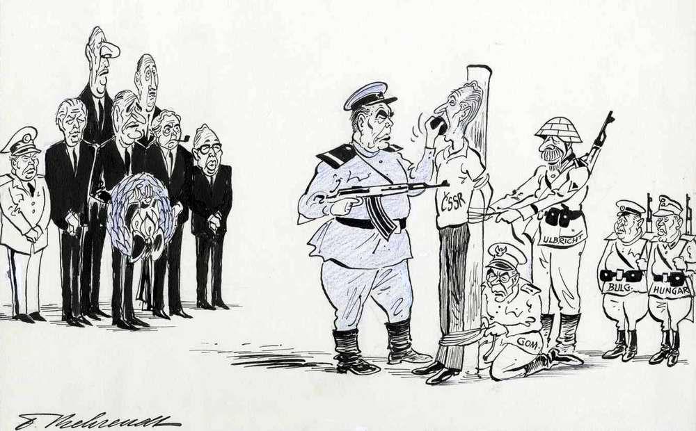 Чехословакия: С чувством искренней симпатии (1968 год)