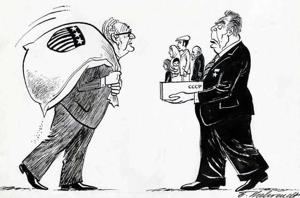 Торговый оборот - американские деньги в обмен на возможность для эмиграции советских евреев (1975 год)