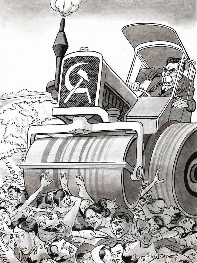 Советская политика в Индокитае - так Брежнев освобождает уже освобожденные народы (1979 год)