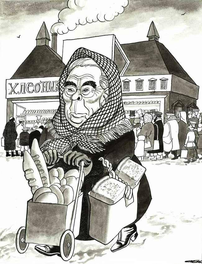 США наконец сняло эмбарго на поставку своего зерна в СССР ... (1981 год)