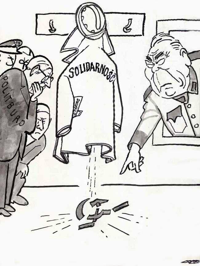 Брежнев и польская Солидарность (1981 год)