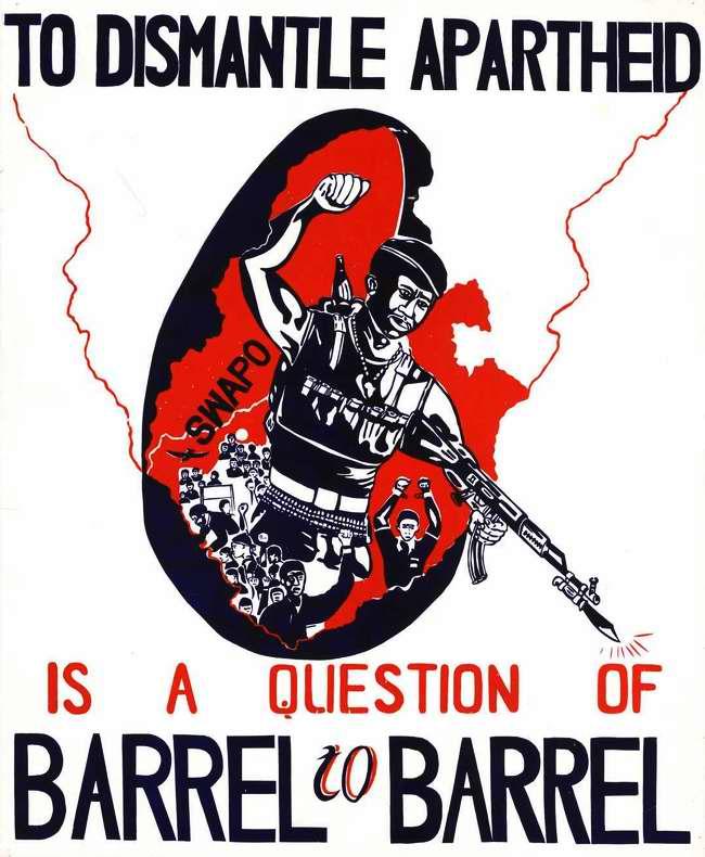 СВАПО: Покончить с апартеидом - это есть самый важный вопрос