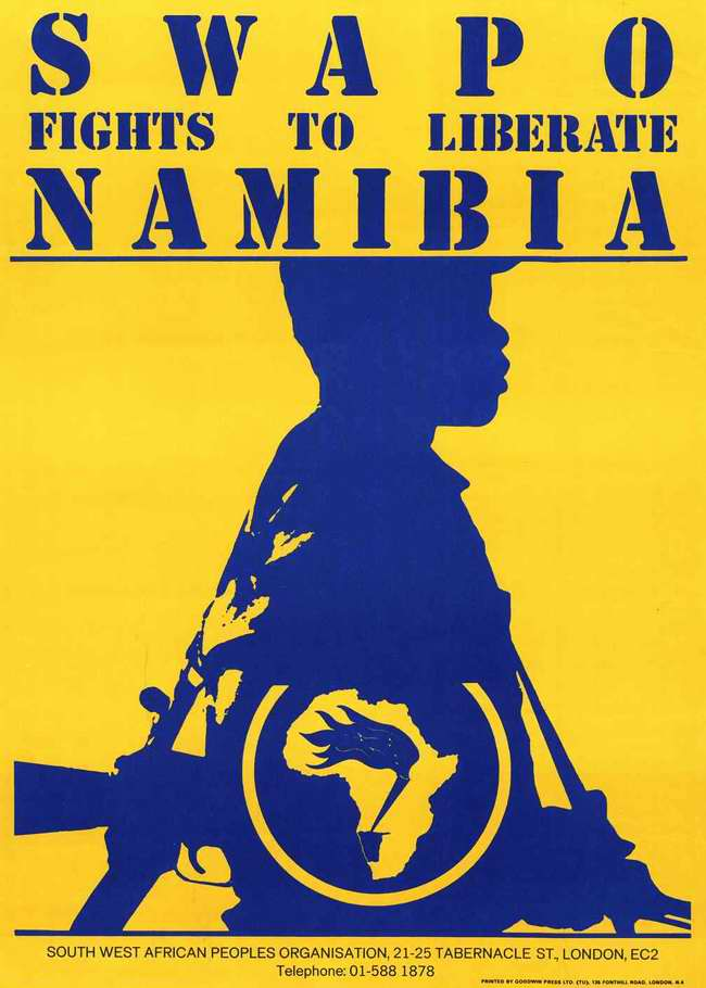 СВАПО борется за освобождение Намибии