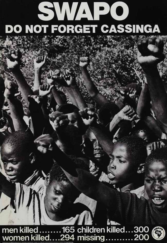 СВАПО никогда не забудет бойни в Кассинге (спецоперации войск ЮАР по уничтожению лагеря беженцев и военной базы СВАПО в глубине территории Анголы 4 мая 1978 года)