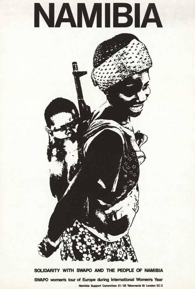 Намибия. Солидарность со СВАПО и народом Намибии