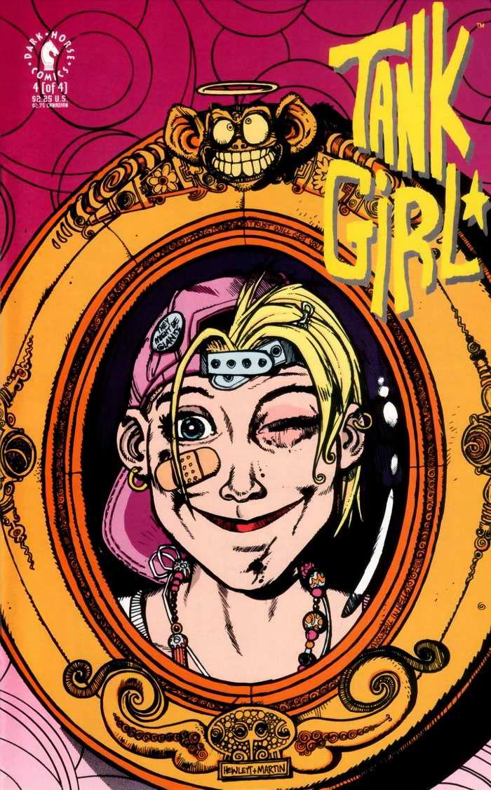Tank girl - cover