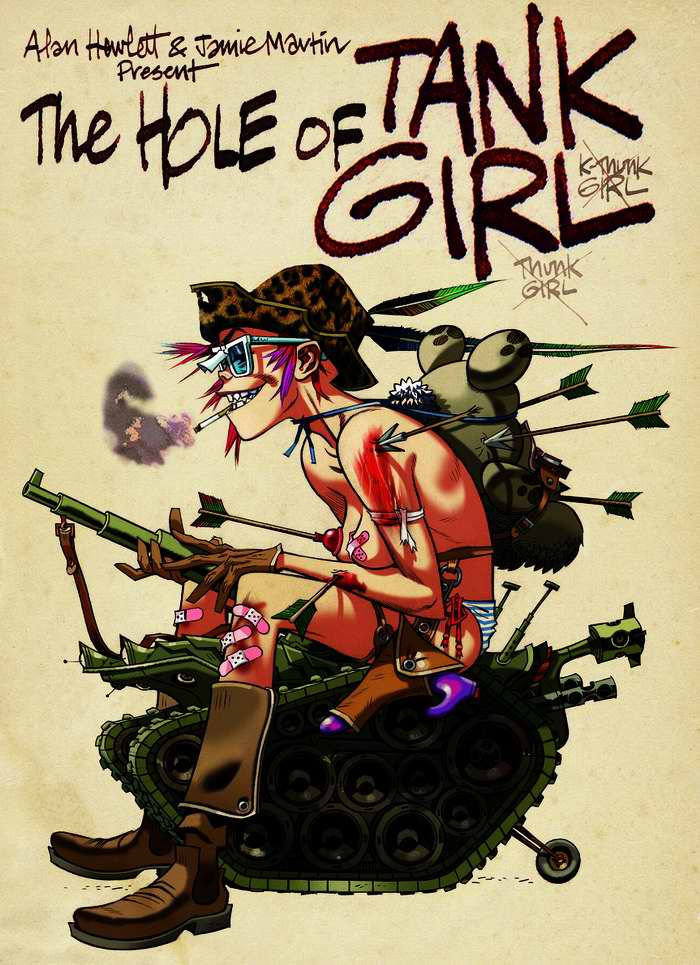 Tank girl - верхом на танке