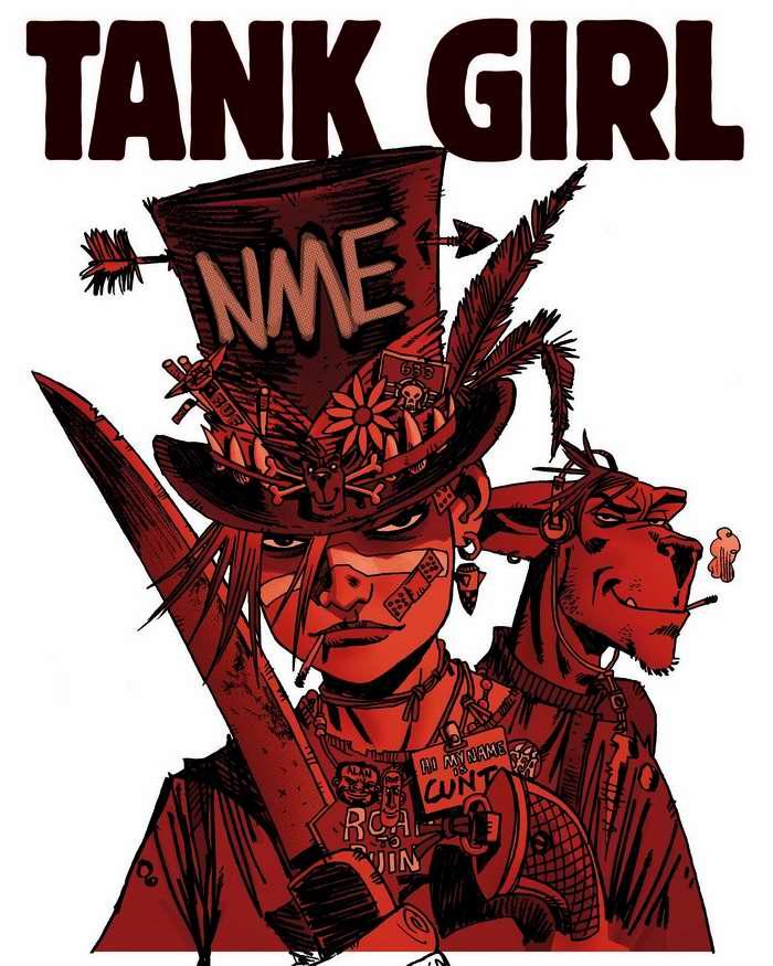 Tank girl - с тесаком и револьвером