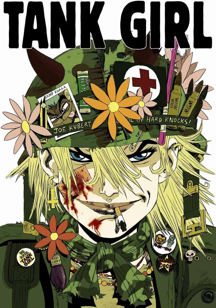 Tank girl - вся в цветах