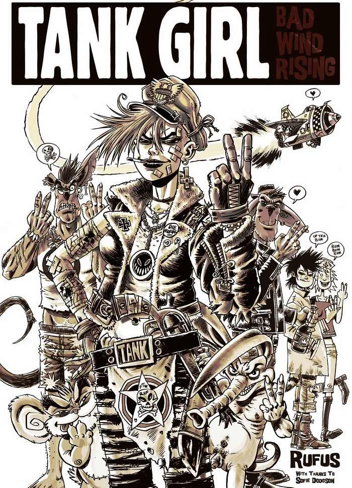Tank girl - Победа