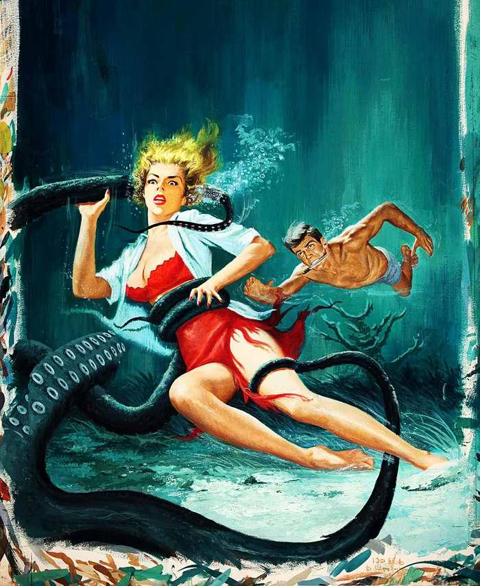 Рисунок художника Vic Prezio