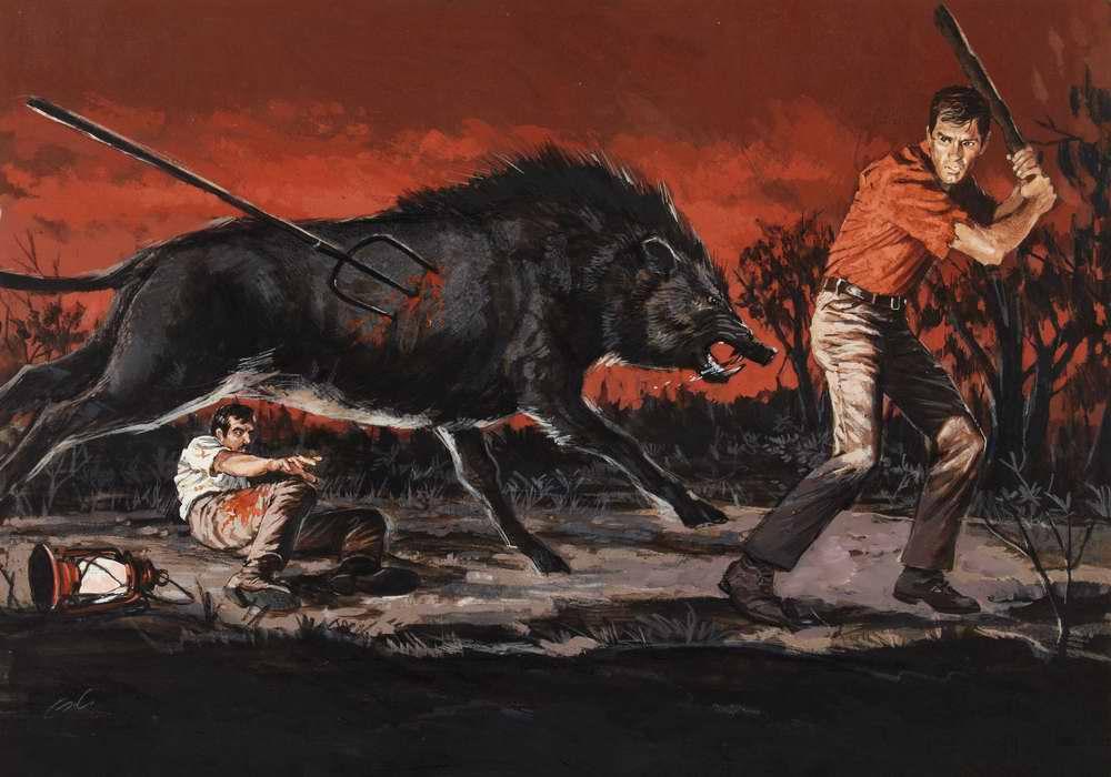 Рисунок художника James Elliott Bama