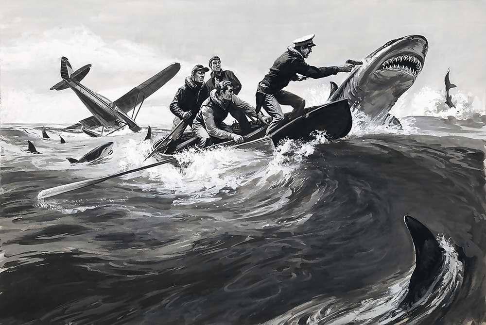 Рисунок художника Norman Saunders