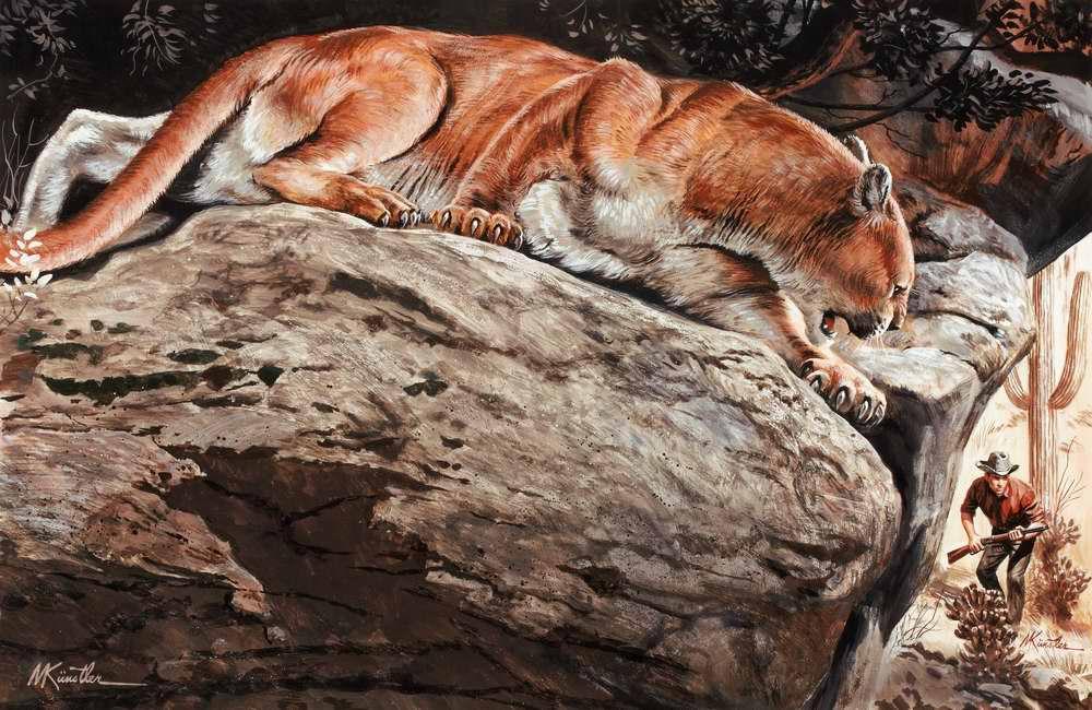Рисунок художника Морта Кюнстлера (Mort Kunstler) (5)