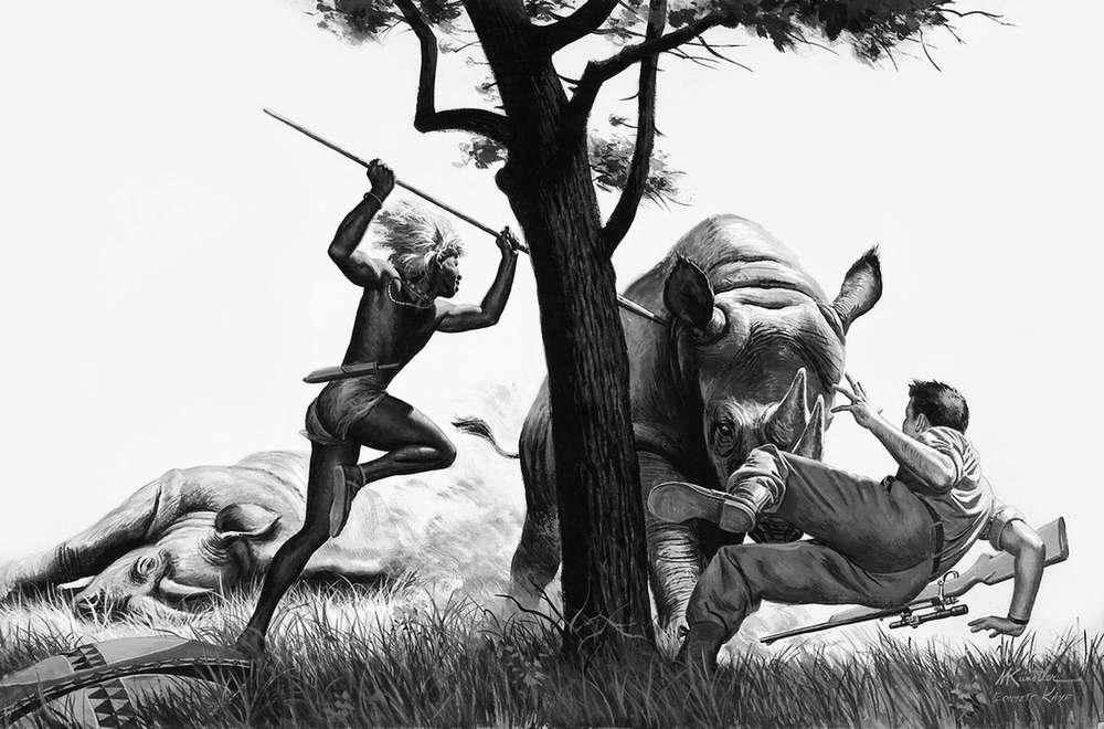 Рисунок художника Морта Кюнстлера (Mort Kunstler) (10)