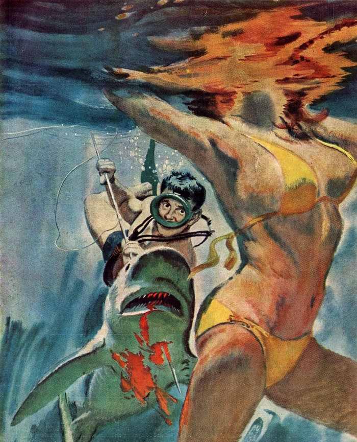 Рисунок художника неизвестного американского художника (2)