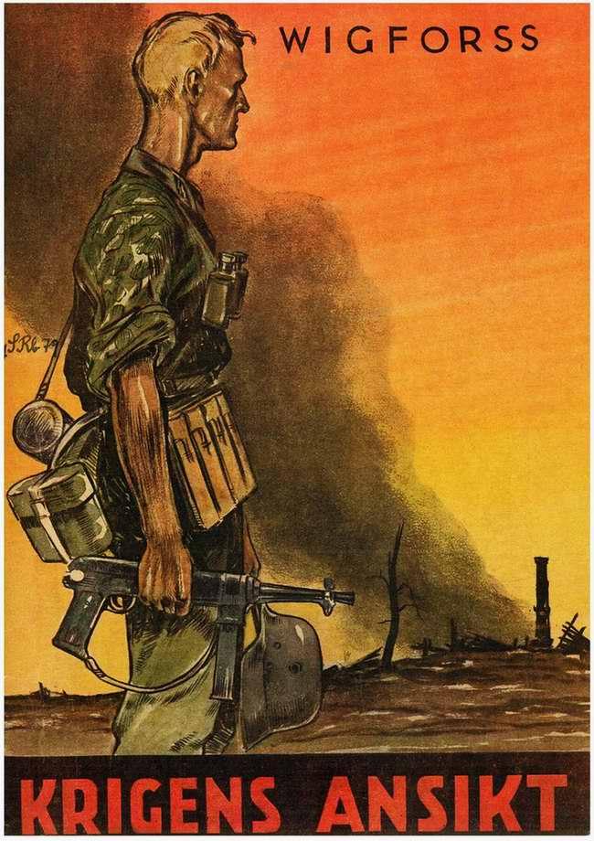 Krigens ansikt - Лица войны (обложка книжки)