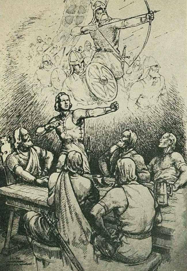 После успешного завершения своих войн древние викинги имели обыкновение возвращаться домой в Норвегию