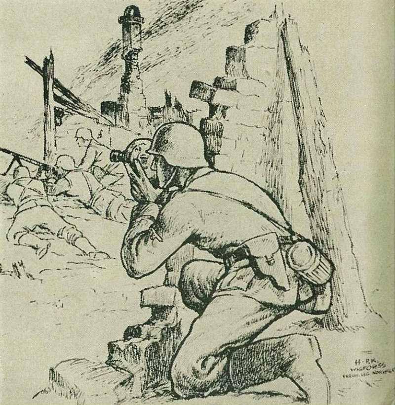 В настоящее время мы продолжаем иметь своих военных сказателей и поэтов в лице военных корреспондентов