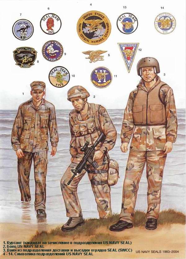 Подразделения морских котиков us navy seal