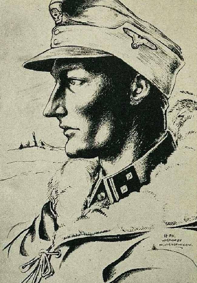 Доброволец войск СС