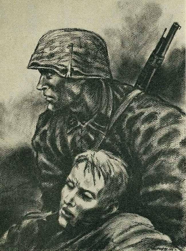 В войсках СС - любая понесенная жертва кажется нам очень большой