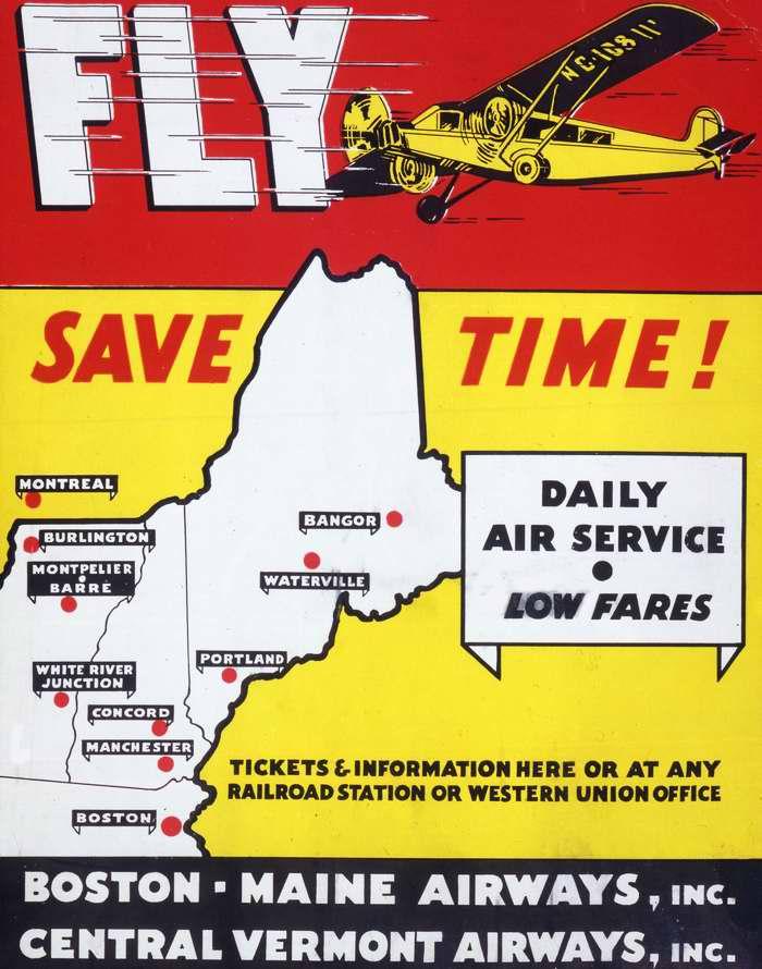 Летайте самолетами и экономьте время - авиакомпании Boston Maine Airways и Central Vermont Airways