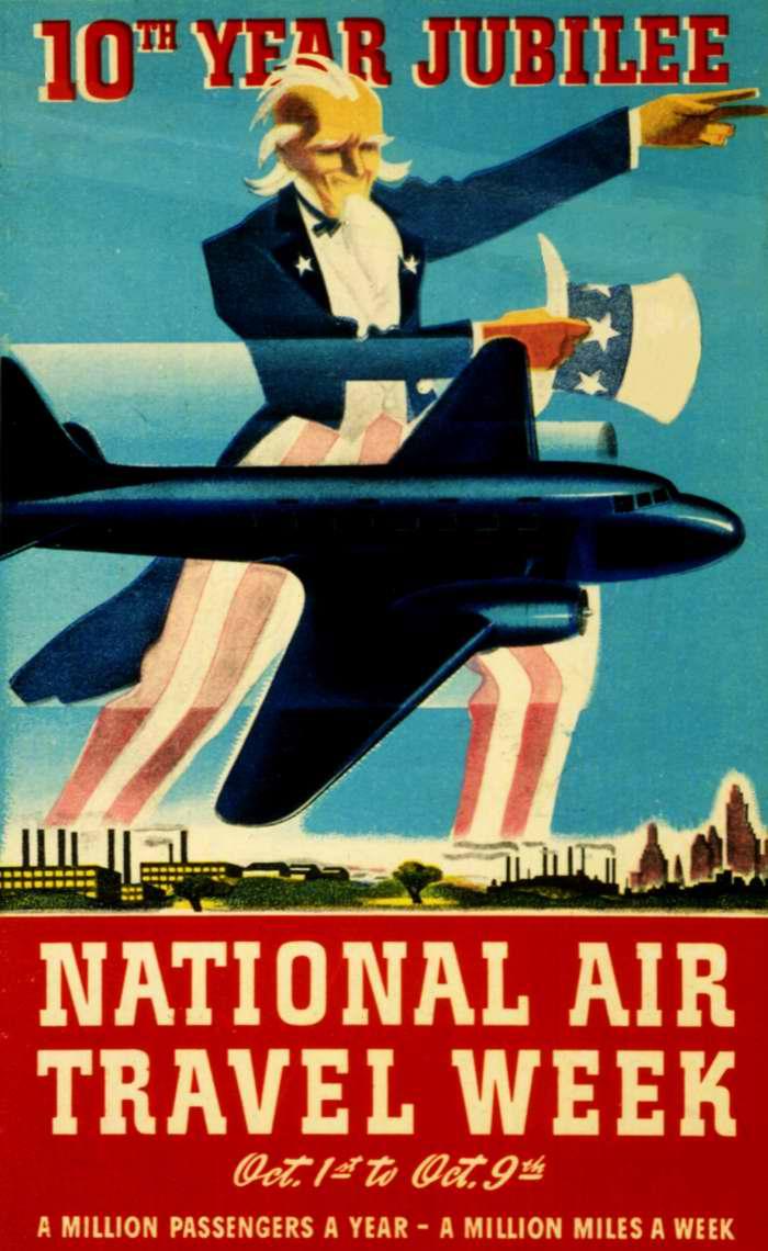 Национальная неделя авиапутешествий: миллион пассажиров год - миллион миль в неделю