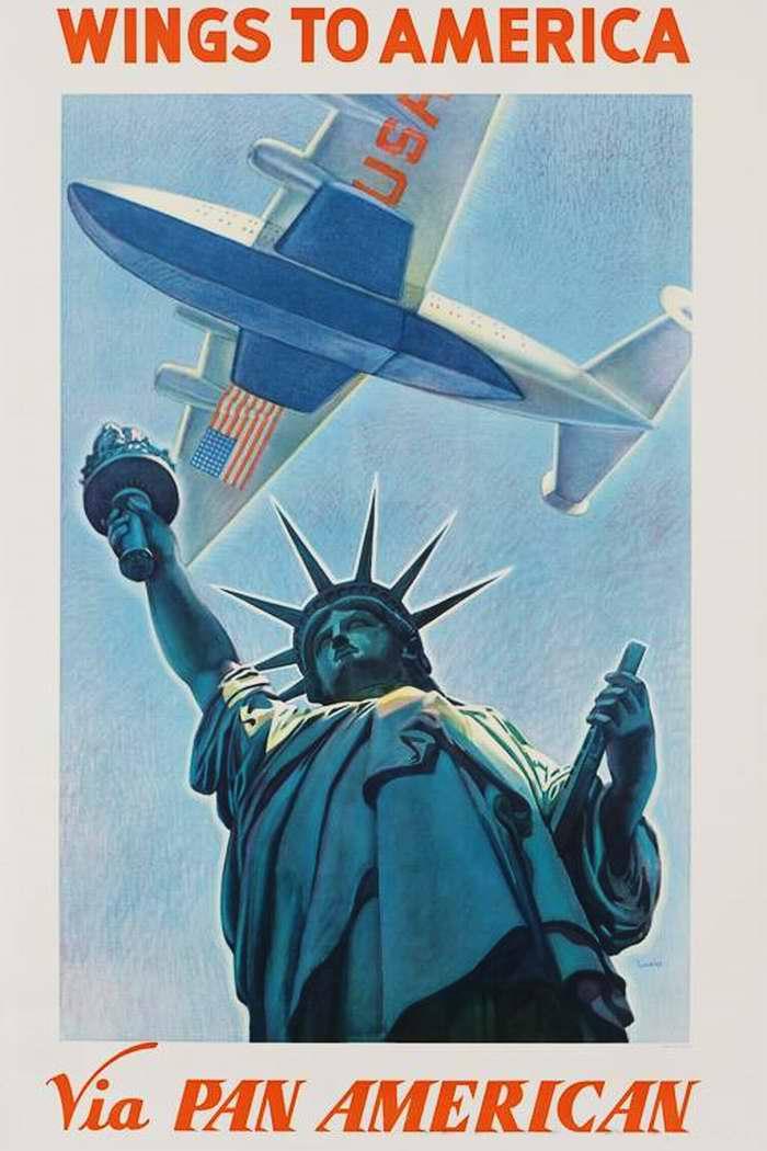 Летайте в Америку самолетами авиакомпании Pan American