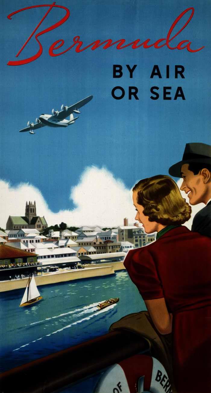 На Бермудские острова - по воздуху или морским путем