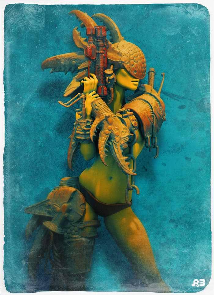 Королева рыбаков (Pascal Blanche)