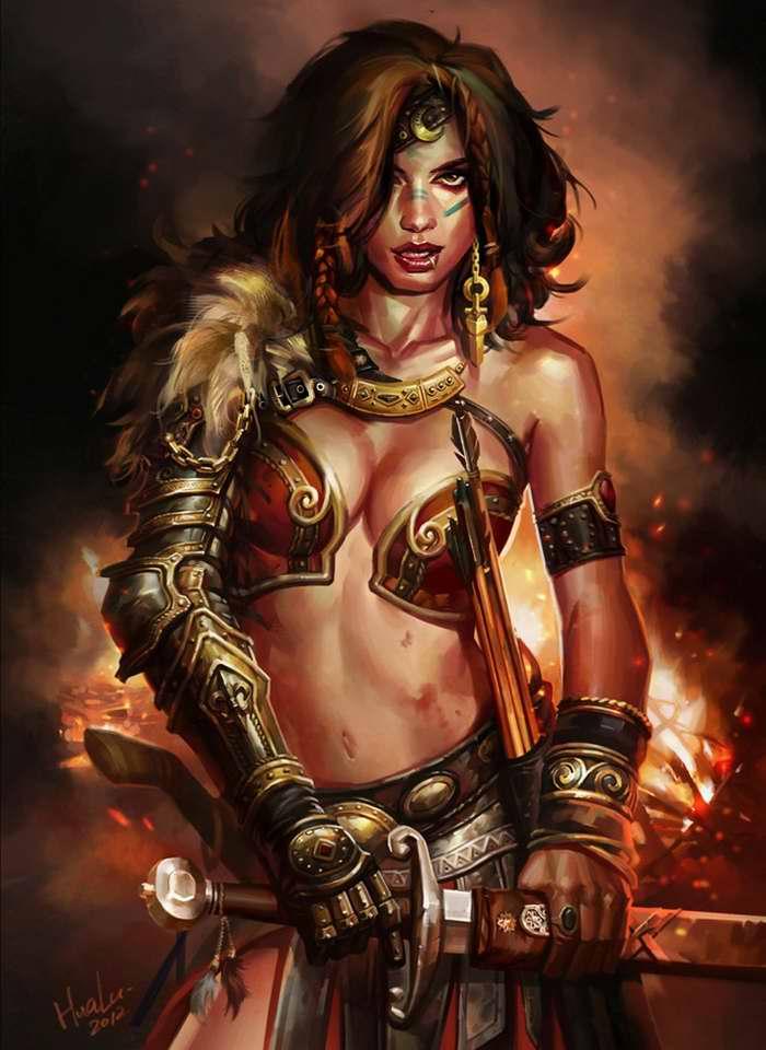 Принцесса варваров (Lu Hua)