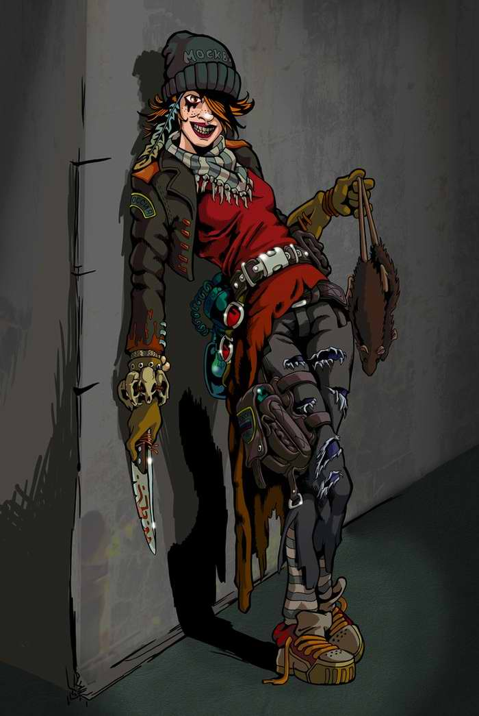 Метро 2033: Охотница на крыс (Алекс Бетонян)
