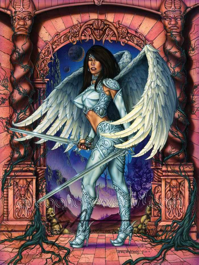 Очень проницательная фея (Greg Andrews)