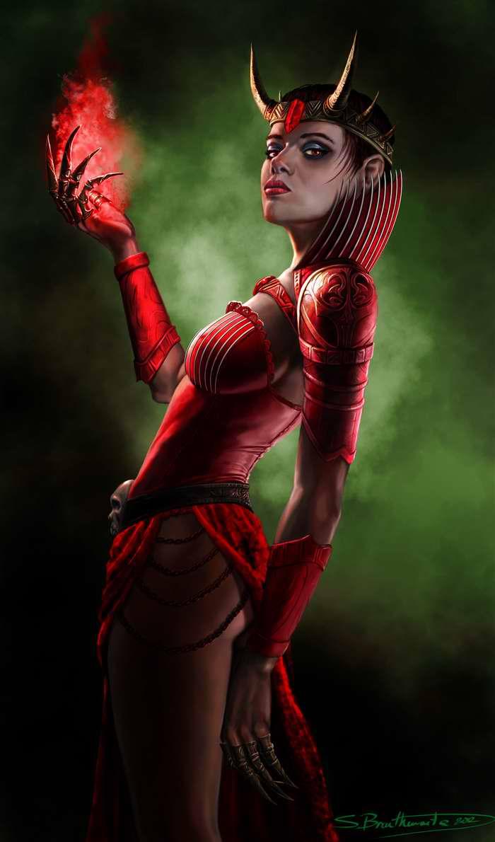 Красная королева (Shane Braithwaite)