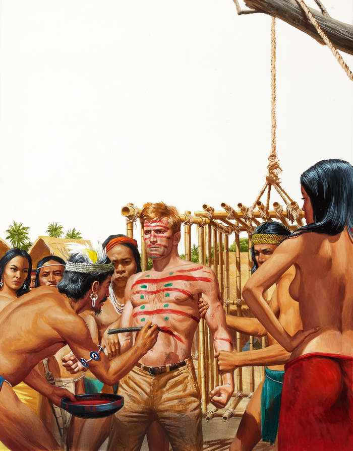Рисунок художника Морта Кюнстлера (Mort Kunstler) (7)
