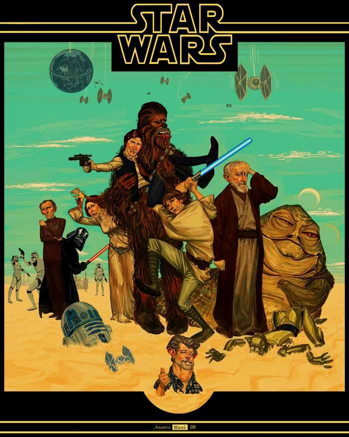 Звездные войны (фантазии на тему одноименного фильма)