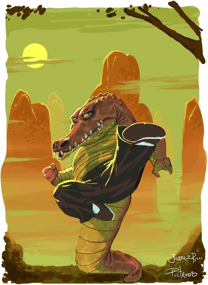Крокодил - мастер кунг-фу
