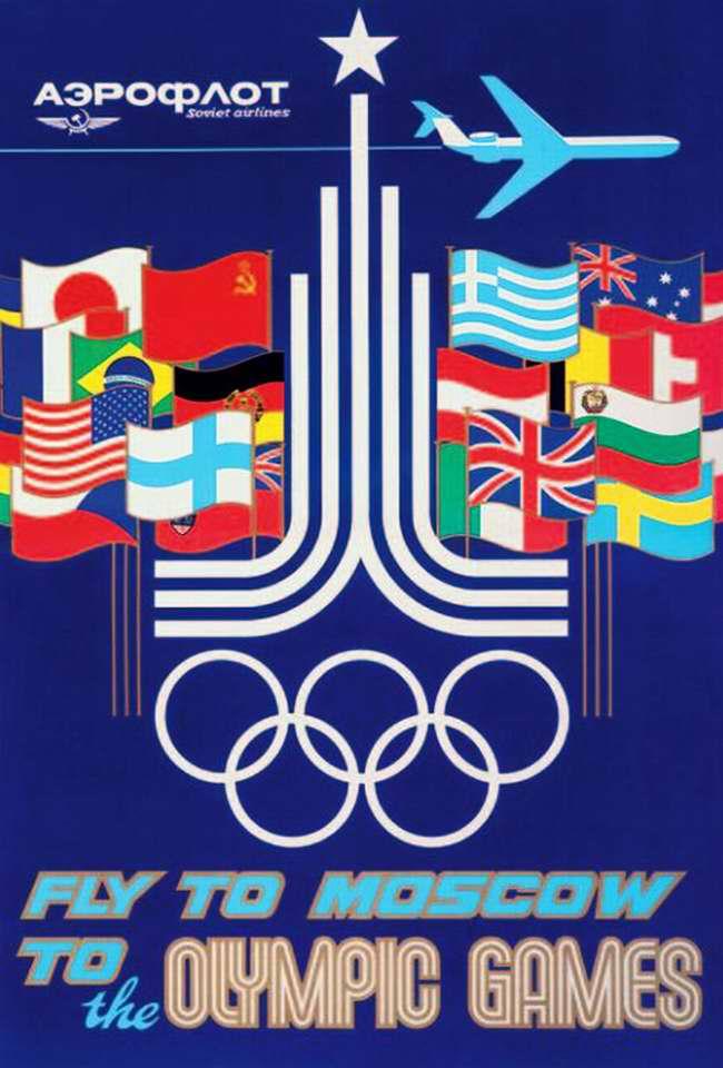 Аэрофлот: Прилетайте в Москву на Олимпийские Игры
