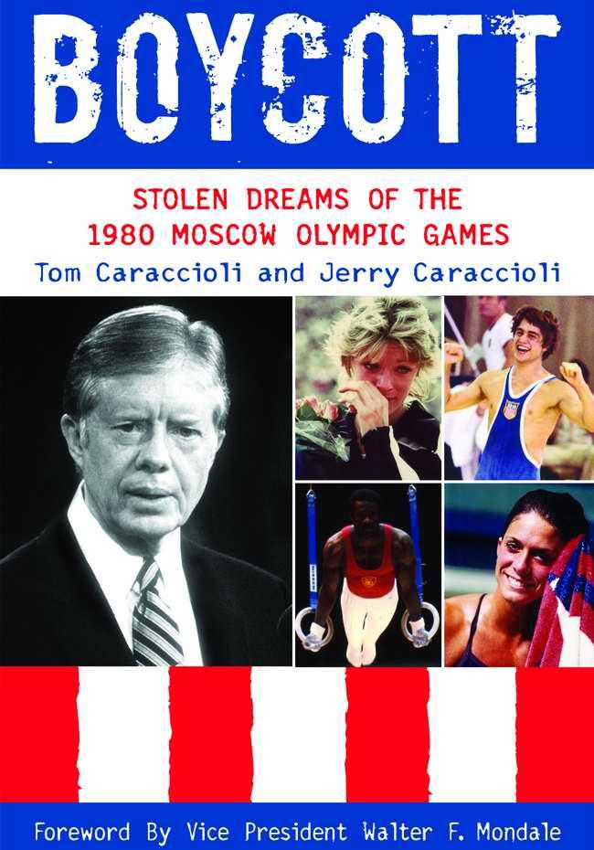 Бойкот: Украденные мечты об Олимпийских Играх в Москве 1980 года (обложка книги - США)
