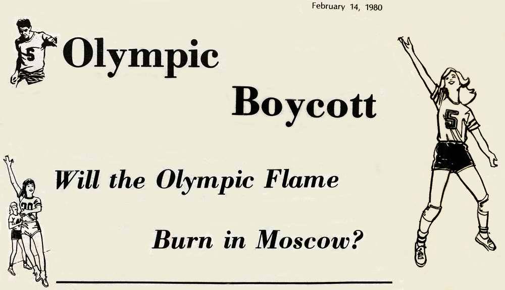 Бойкот Олимпиады. Должен ли Олимпийский огонь загореться в Москве?