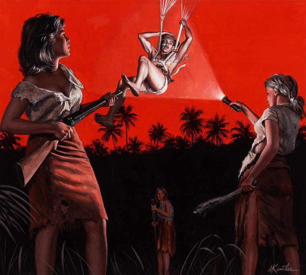 Рисунок художника Морта Кюнстлера (Mort Kunstler) (2)