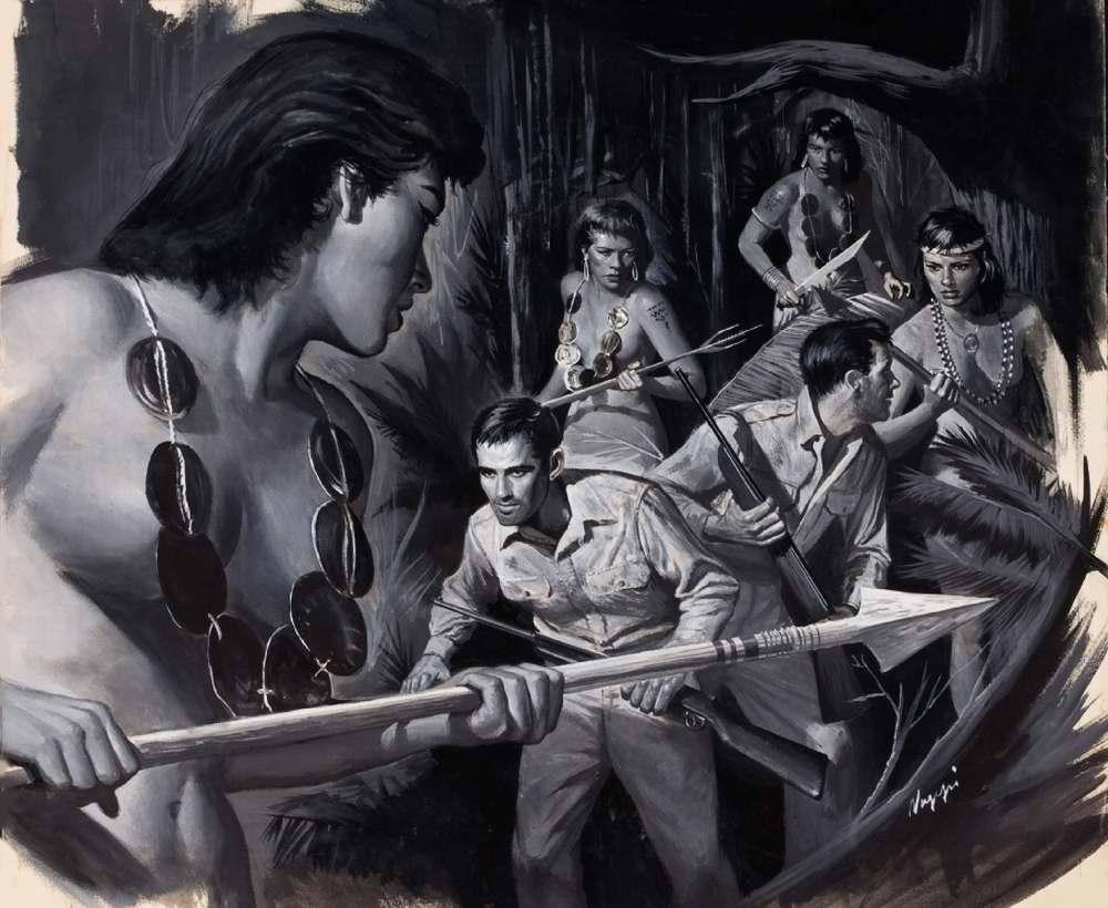 Рисунок художника Rudy Nappi