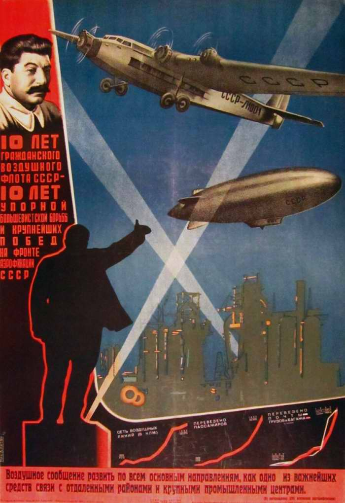 10 лет гражданского воздушного флота СССР