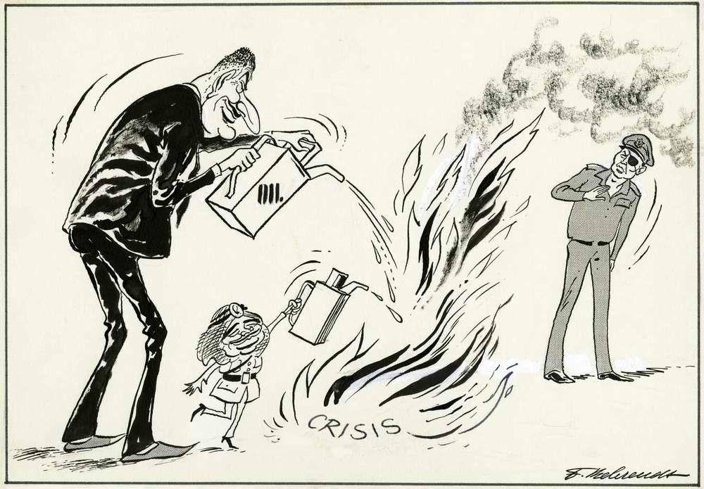Насер и ООП постоянно подливают масло в огонь кризиса отношений на Ближнем Востоке