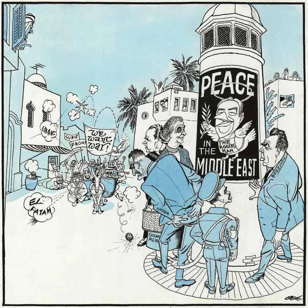 Война и мир на Ближнем Востоке