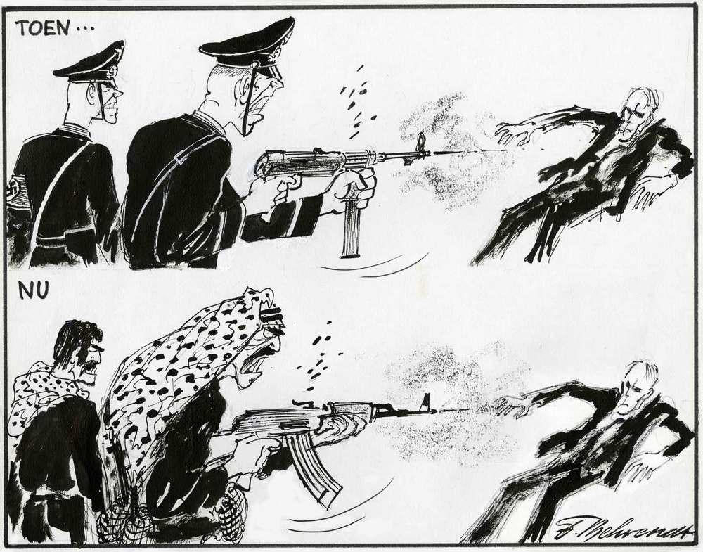 Тогда и сейчас: их цель для уничтожения - евреи