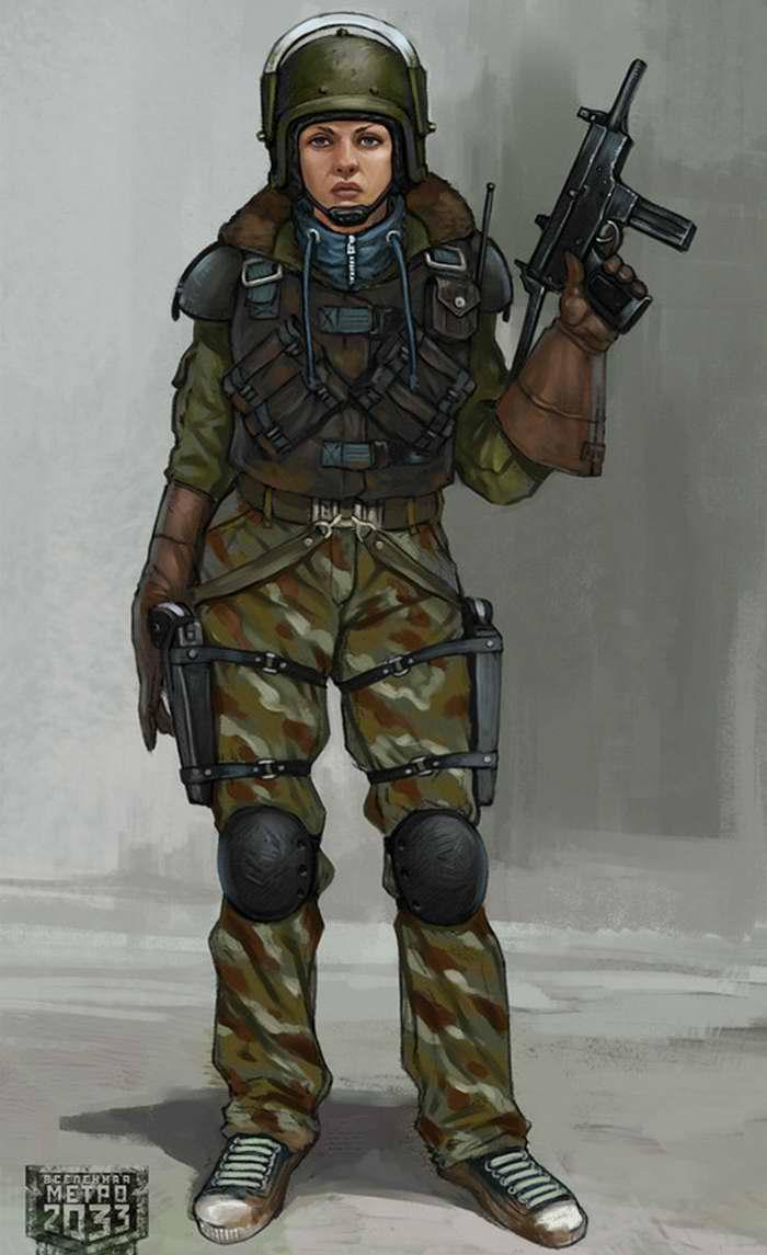 Дев��ки в военной �о�ме sibnarkomat