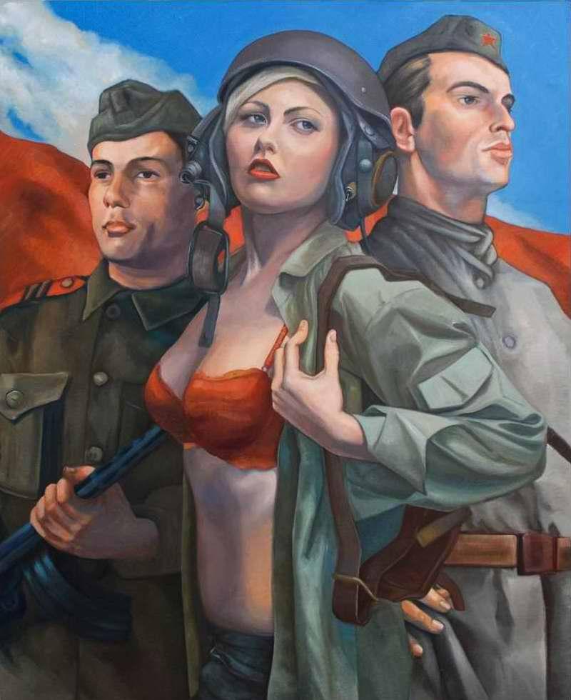 Советская армия - в одном строю